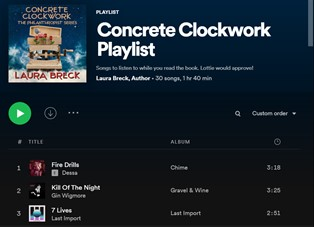 Concrete Clockwork Playlist